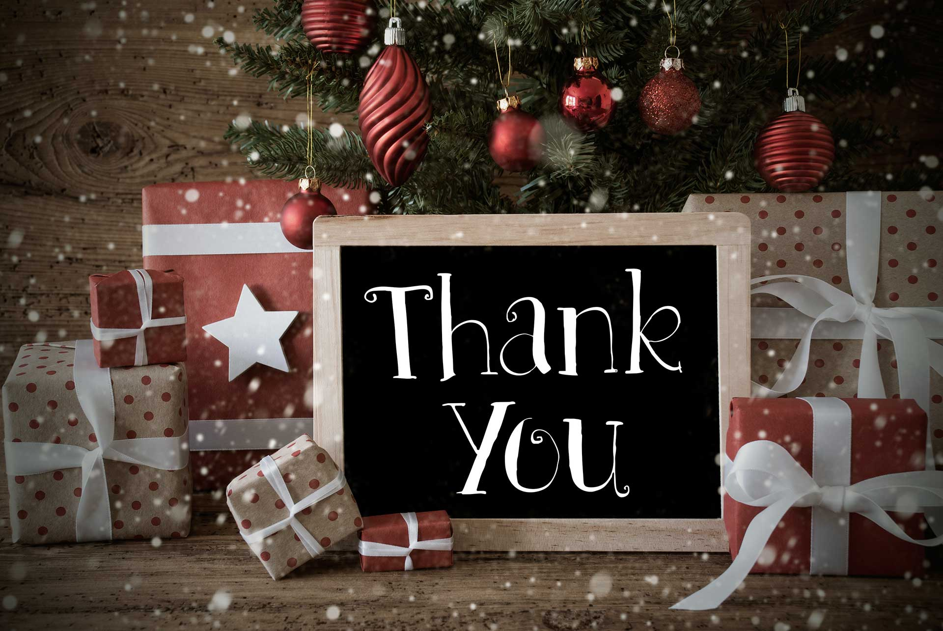 Grazie a tutti i nostri affezionati clienti